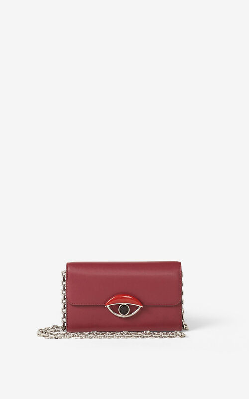 CARMINE TALI leather wallet with chain   for men KENZO