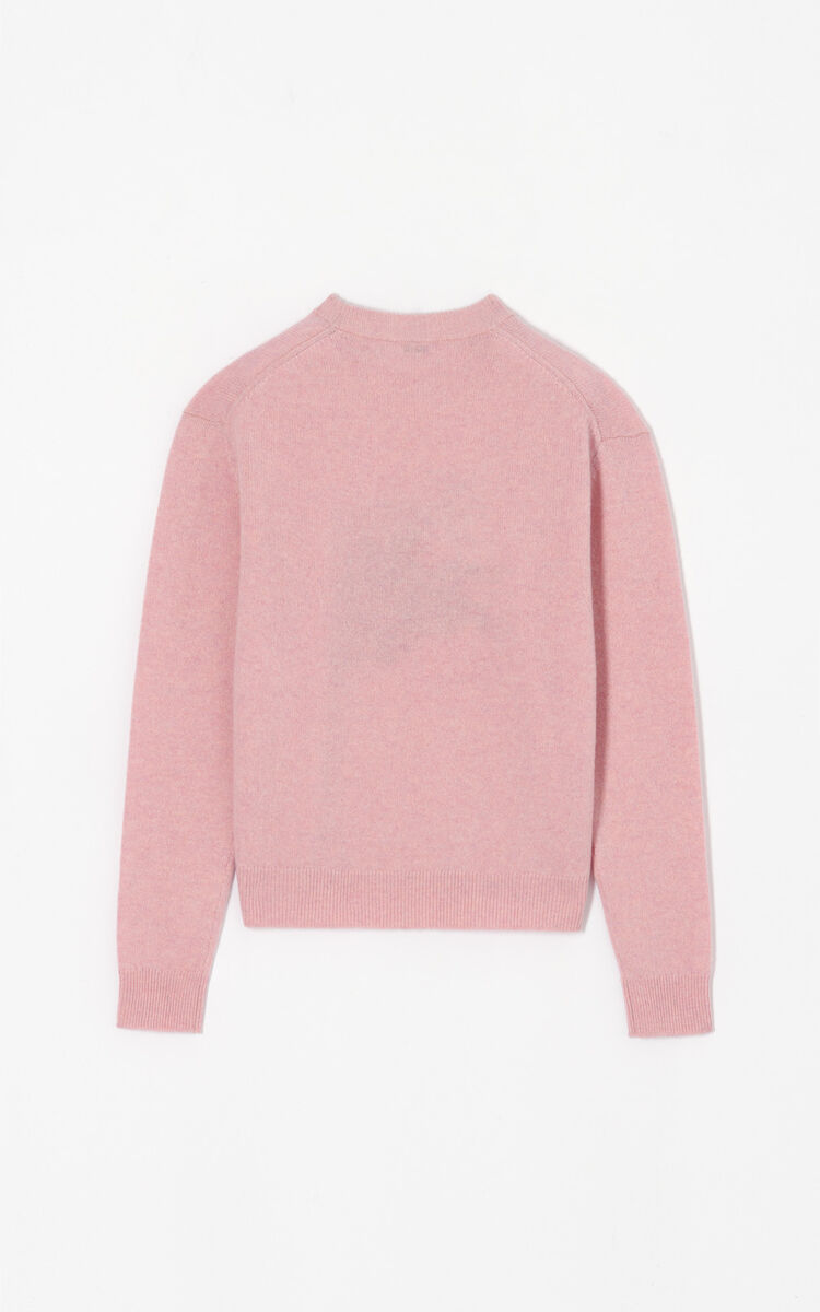 PASTEL PINK 'Bamboo Tiger' jumper 'Golden Week capsule' for women KENZO