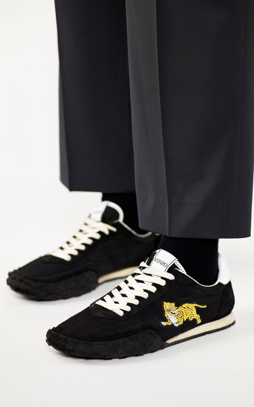 BLACK KENZO Move trainers for men