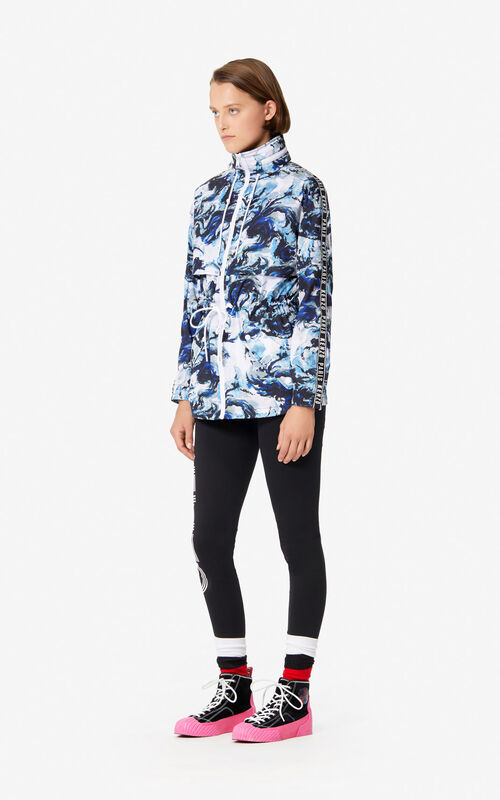 NAVY BLUE 'KENZO World' wind stopper for women