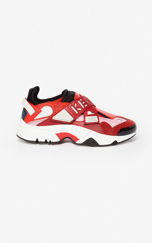 BORDEAUX Sonic Scratch sneakers for unisex KENZO