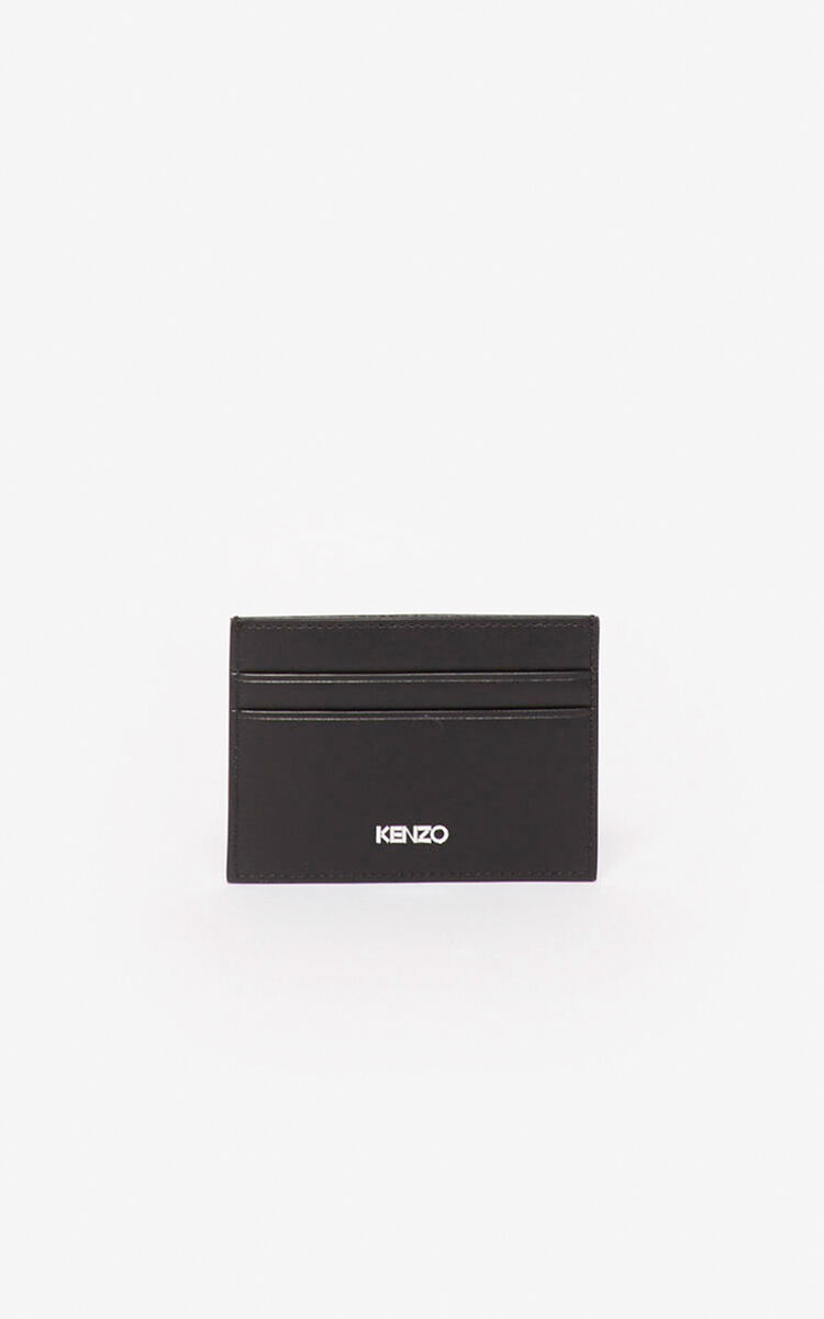 BLACK Kandy card holder for men KENZO