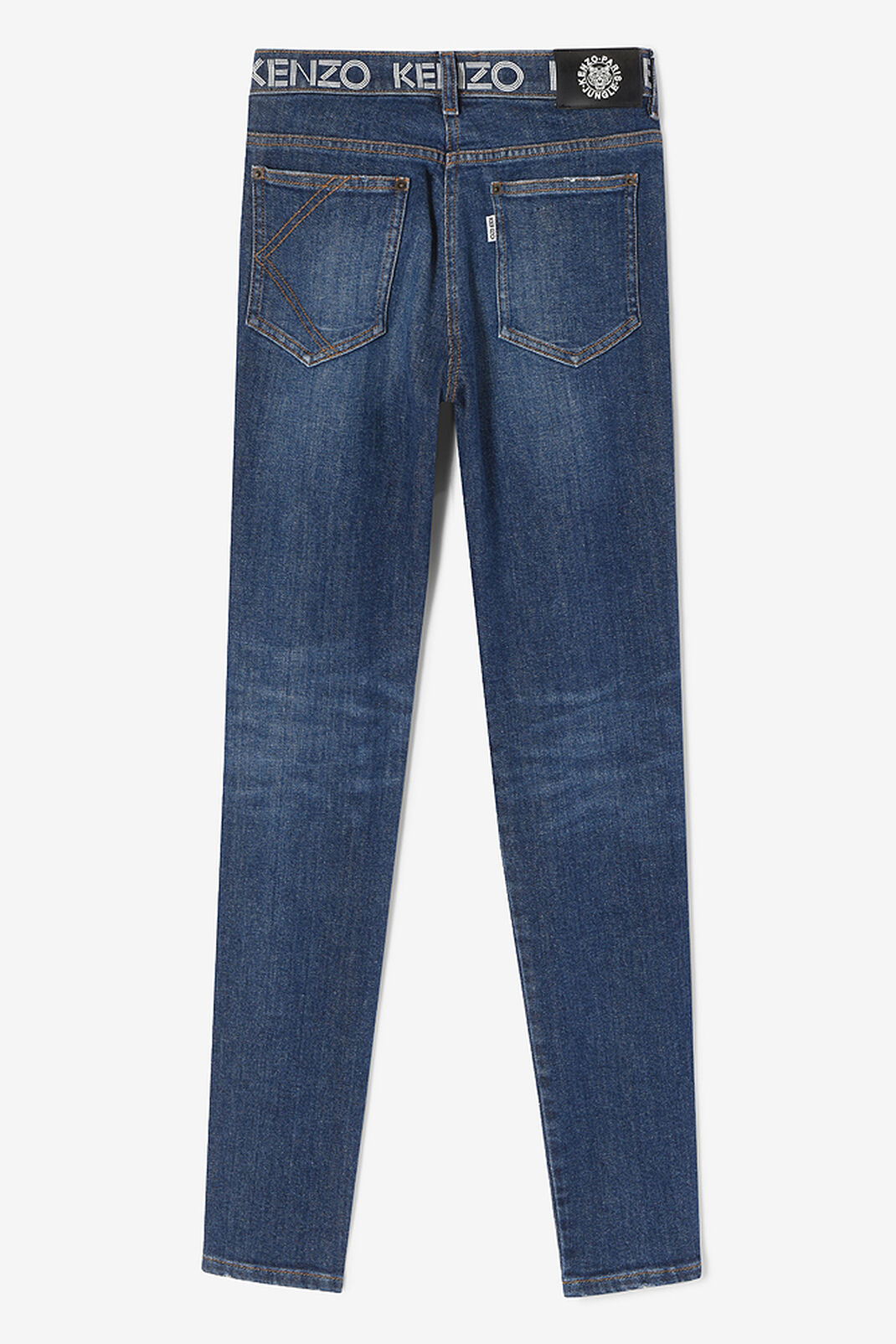 NAVY BLUE Sretch Denim KENZO Jeans  for women