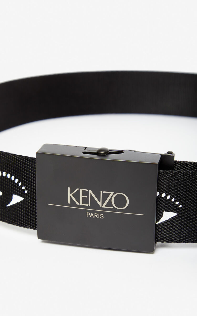 BLACK Multi Eye belt for unisex KENZO