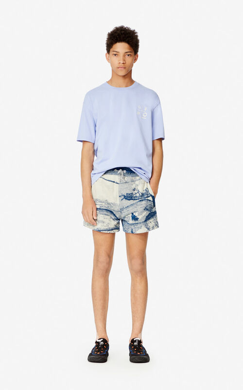 LAVENDER 'Compass' T-shirt for men KENZO