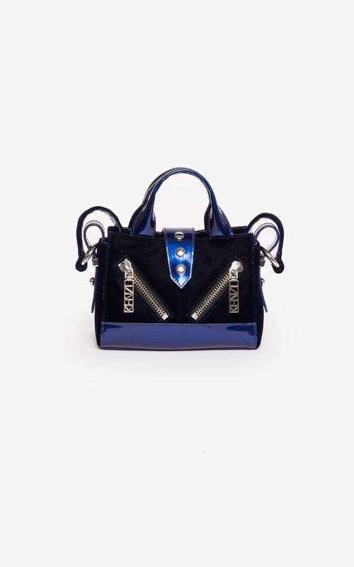 MIDNIGHT BLUE Micro Kalifornia handbag  'Holiday Capsule' for unisex KENZO