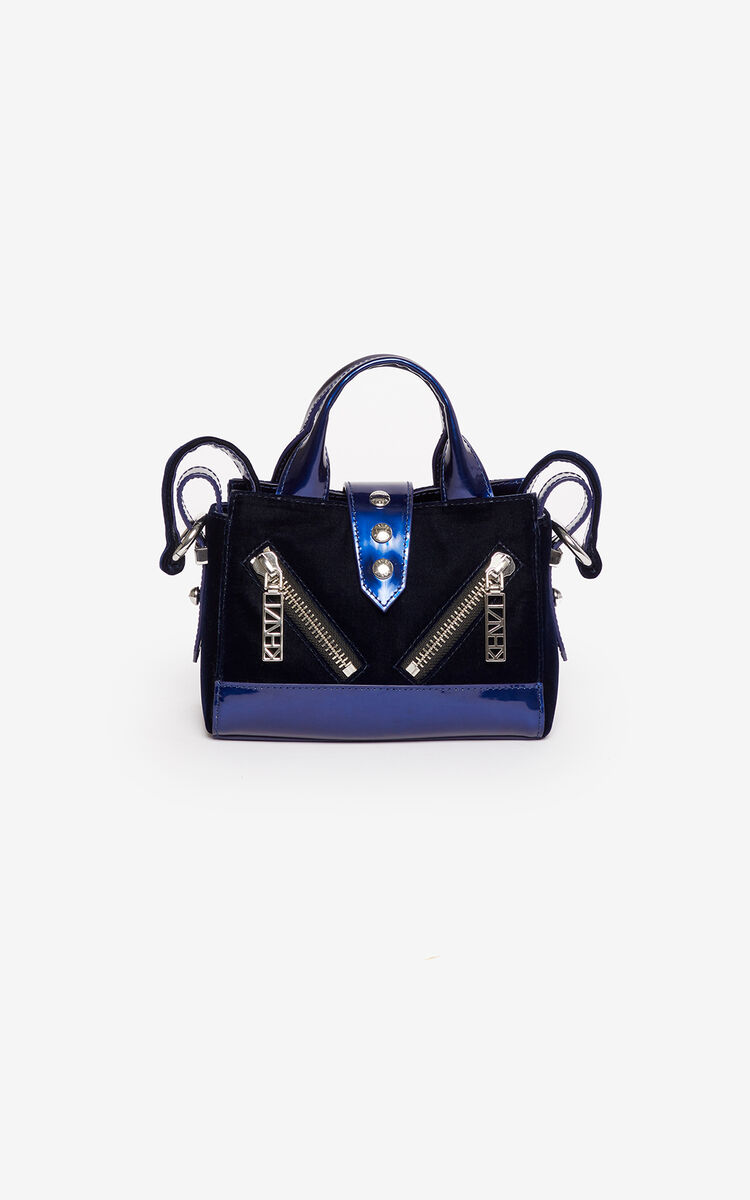 MIDNIGHT BLUE Micro Kalifornia handbag  'Holiday Capsule' for women KENZO