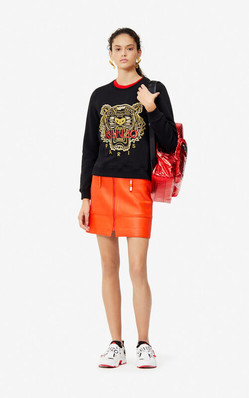 BLACK Tiger sweatshirt 'Exclusive Capsule' for women KENZO