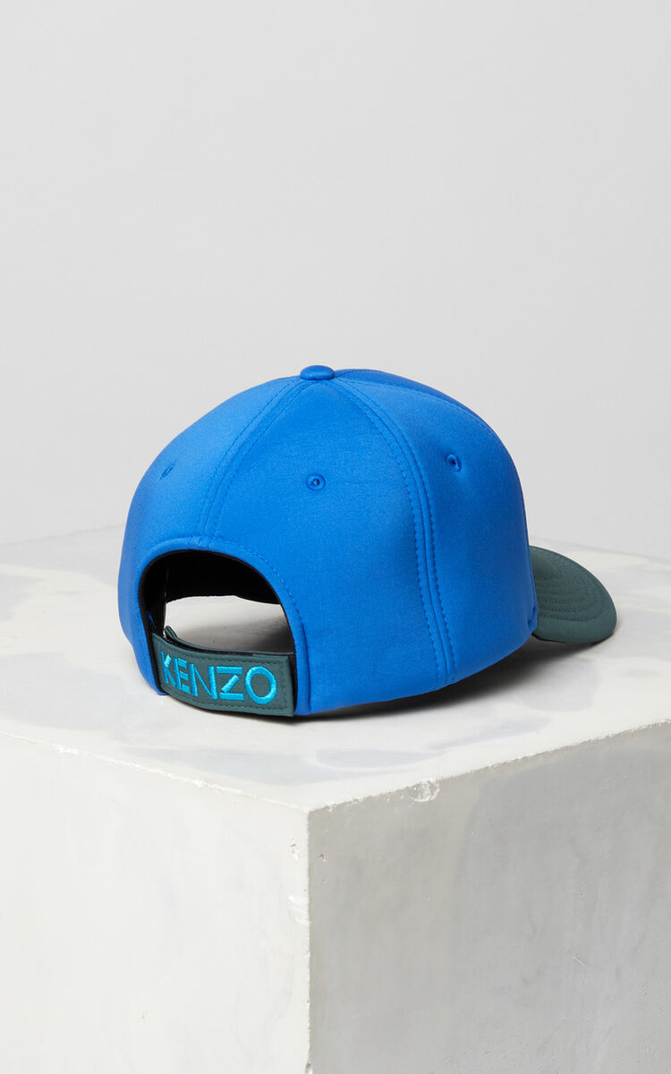 FRENCH BLUE Bicolore neoprene Tiger cap for unisex KENZO