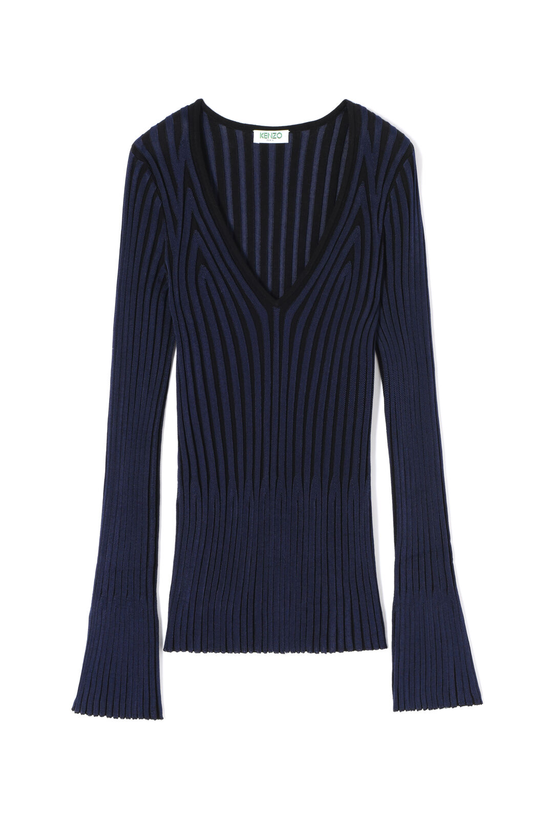 BLACK Pleated top for women KENZO