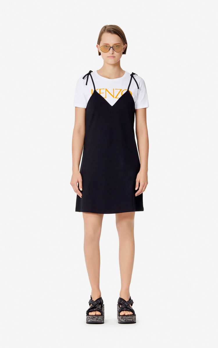 BLACK 2-in-1 dress 'High Summer Capsule collection' for women KENZO