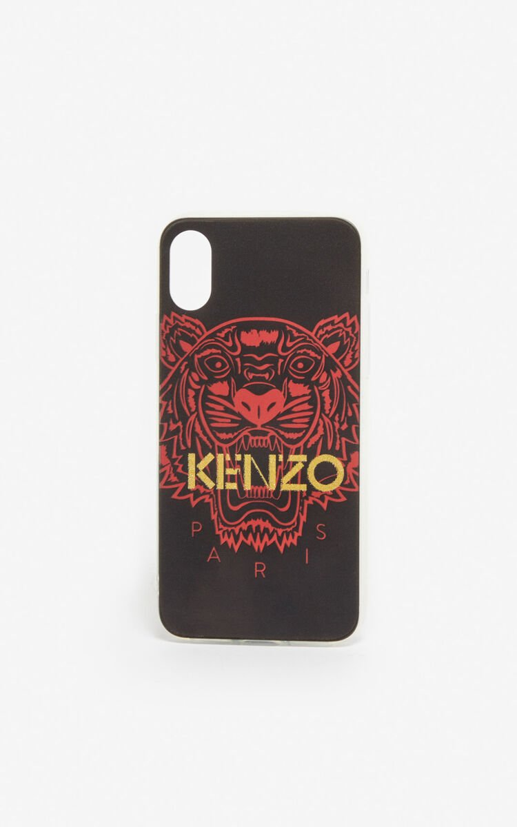 BLACK iPhone X/XS Tiger case for women KENZO
