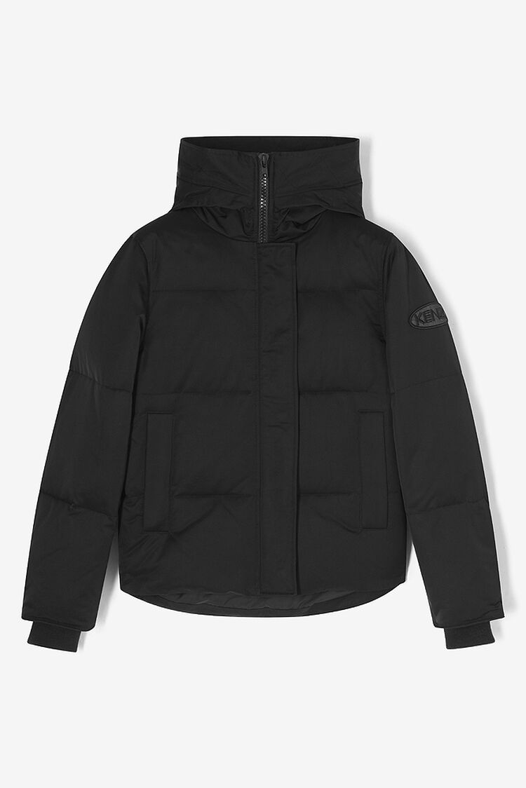 BLACK Quilted Puffa jacket for women KENZO