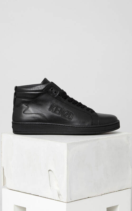 BLACK Tearx Sneakers for men KENZO