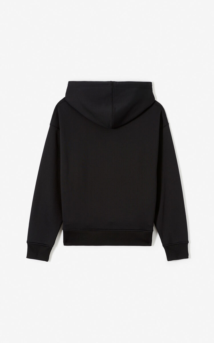 BLACK 'KENZO Mountain' hoodie for women