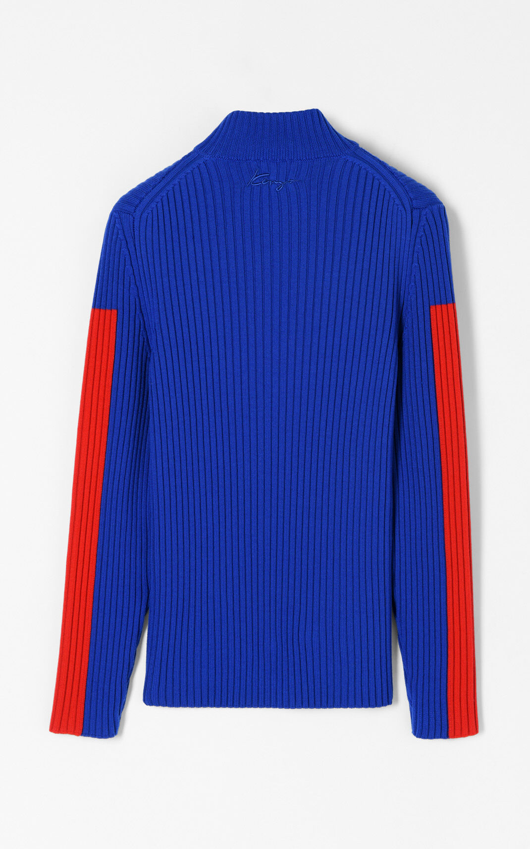 DEEP SEA BLUE Long turtleneck for women KENZO