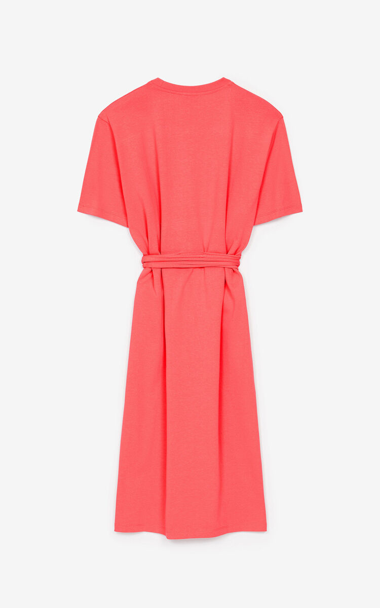 CORAL Tiger Crest T-shirt dress for women KENZO