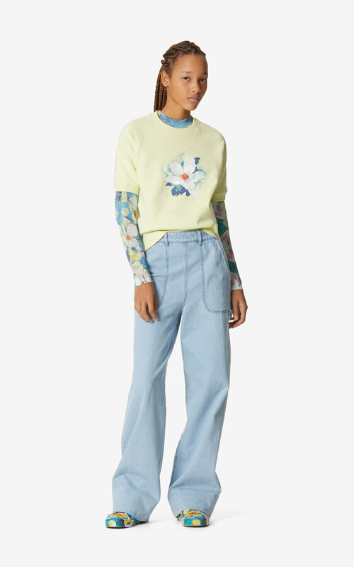 BISCUIT 'Gardenias' sweatshirt for women KENZO