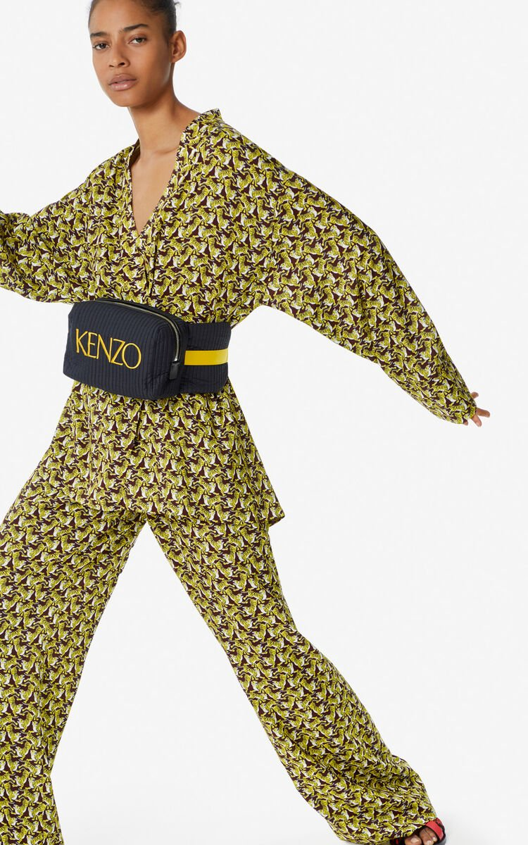 BORDEAUX 'Running Tiger' kimono for global.none KENZO