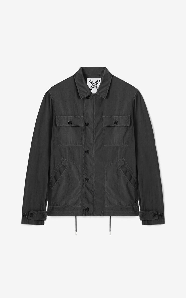 ANTHRACITE Work jacket for women KENZO