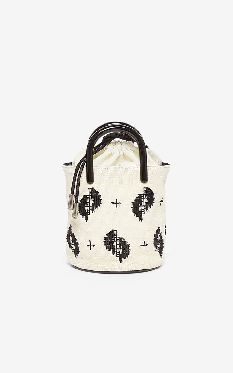 OFF WHITE 'Ikat' mini tote bag for women KENZO