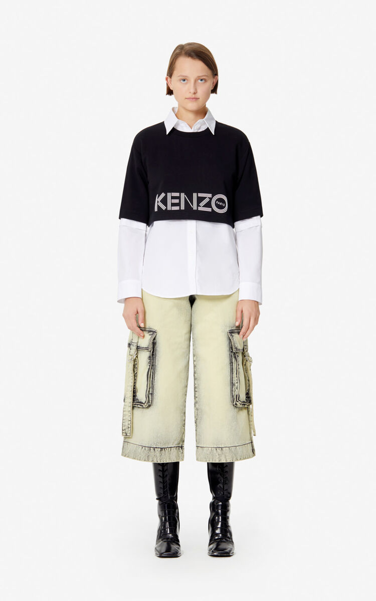 BISCUIT Cargo pants for women KENZO