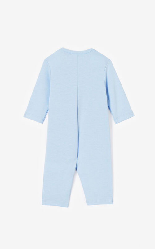 LIGHT BLUE 'Cali Party' jumpsuit for women KENZO