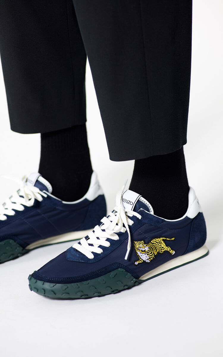NAVY BLUE KENZO Move Sneaker for men