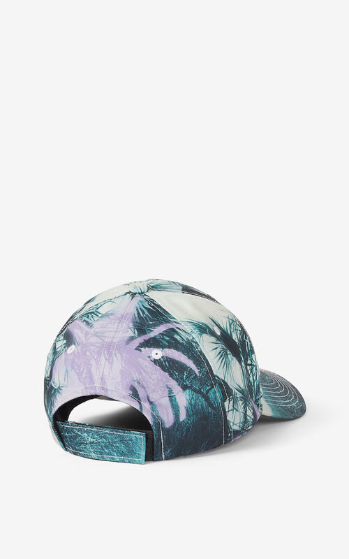WISTERIA 'Hawaiian Graffiti' 'High Summer Capsule' baseball cap for unisex KENZO