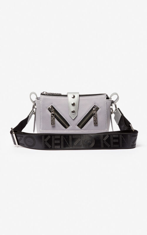 45642a7e85 SILVER Mini Kalifornia sports bag for unisex KENZO ...