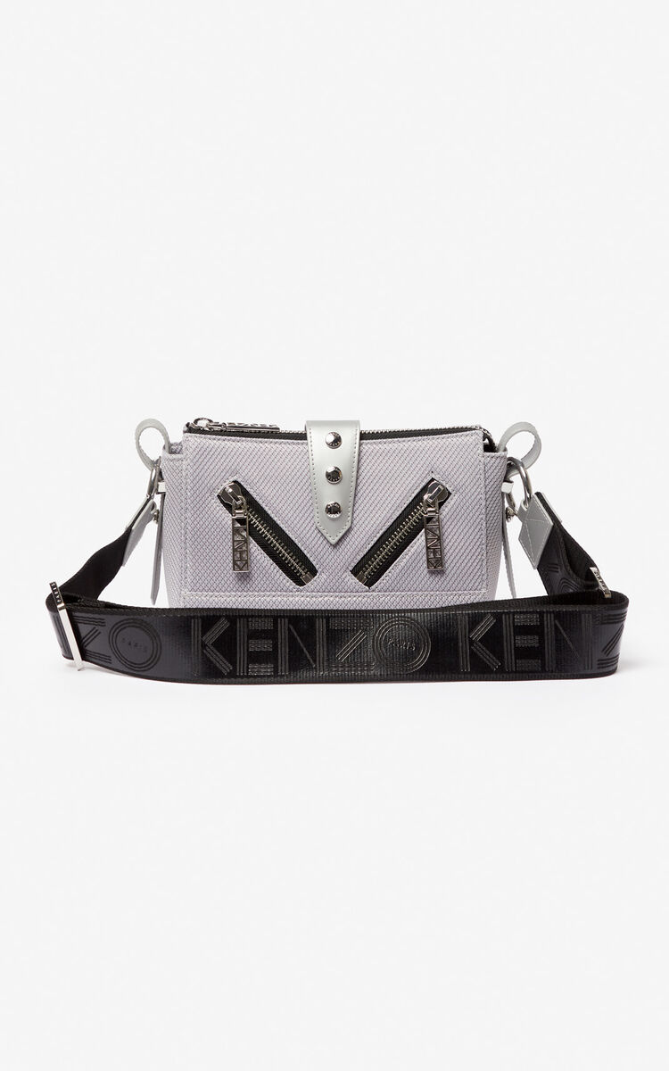 SILVER Mini Kalifornia sports bag for unisex KENZO