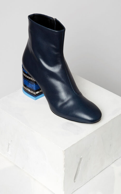 NAVY BLUE Daria Boots for women KENZO