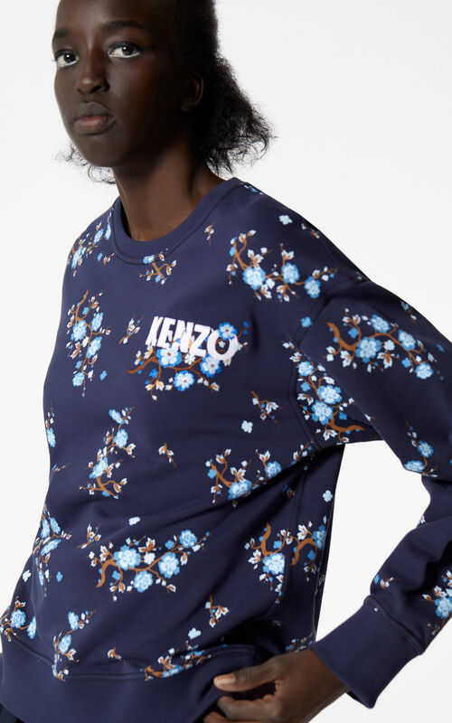 INK 'Cheongsam Flower' sweatshirt for women KENZO