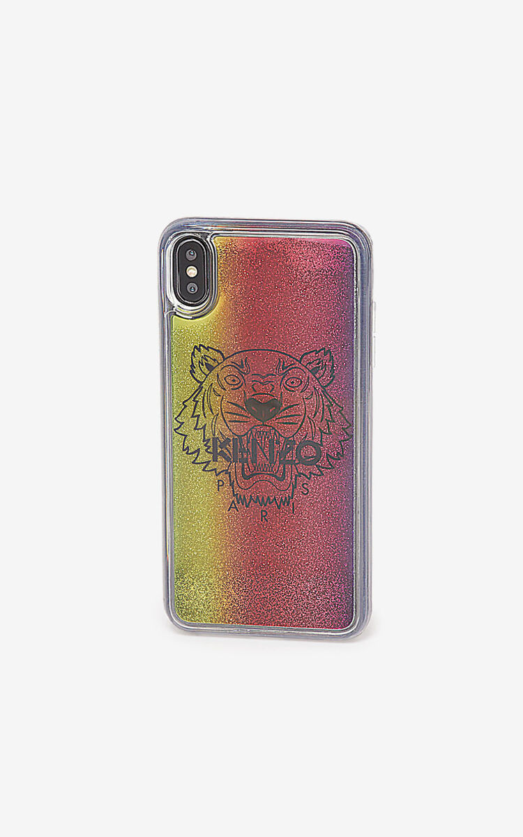 MULTICOLOR iPhone XS Max Tiger case for unisex KENZO