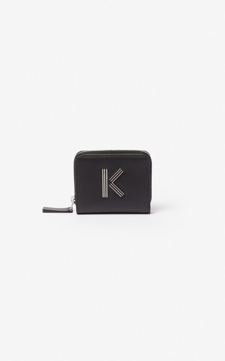 Kenzo - Small K-Bag leather wallet - 1