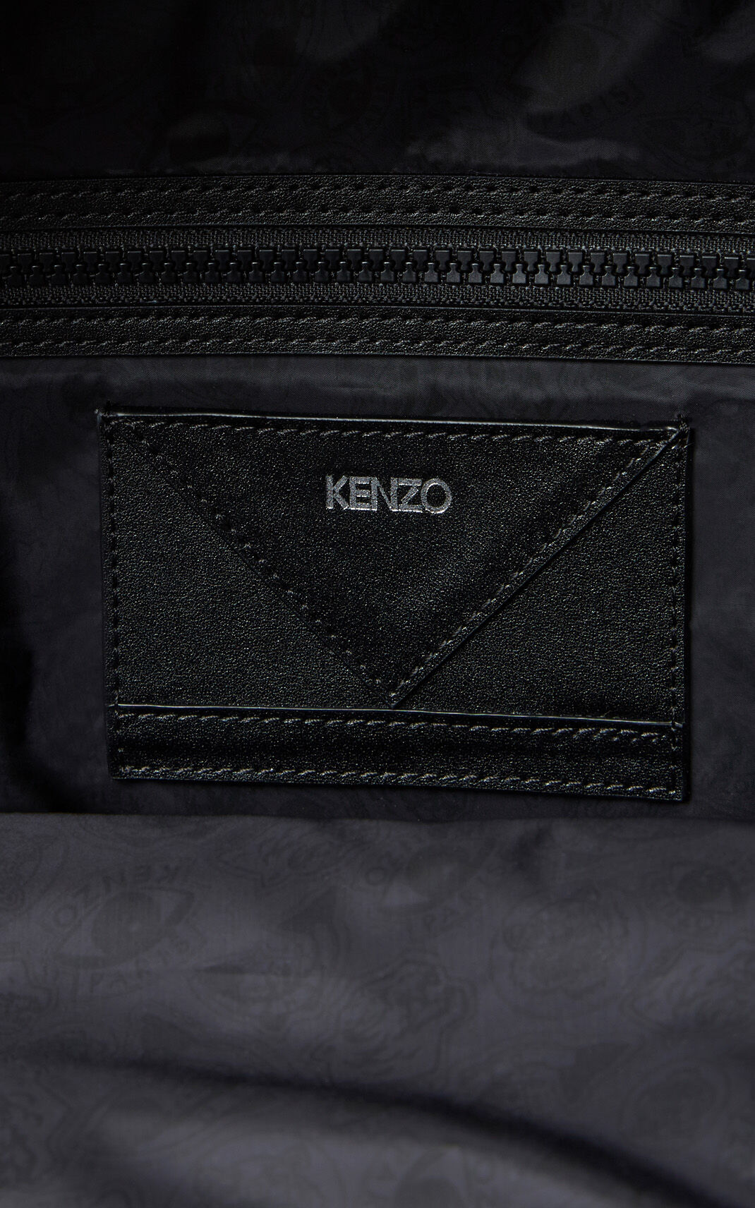 ANTHRACITE Medium KENZO Signature backback for men