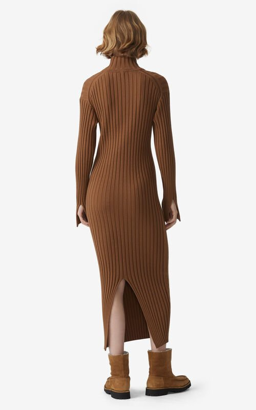 TABAC Ribbed knit dress for women KENZO