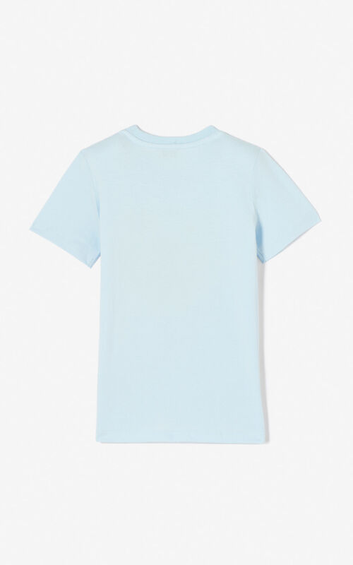 LIGHT BLUE Tiger t-shirt KENZO