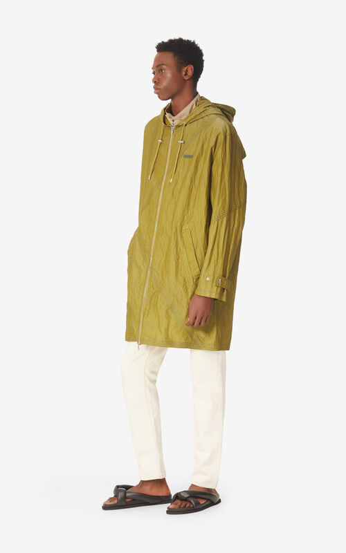 KHAKI Lightweight parka for men KENZO