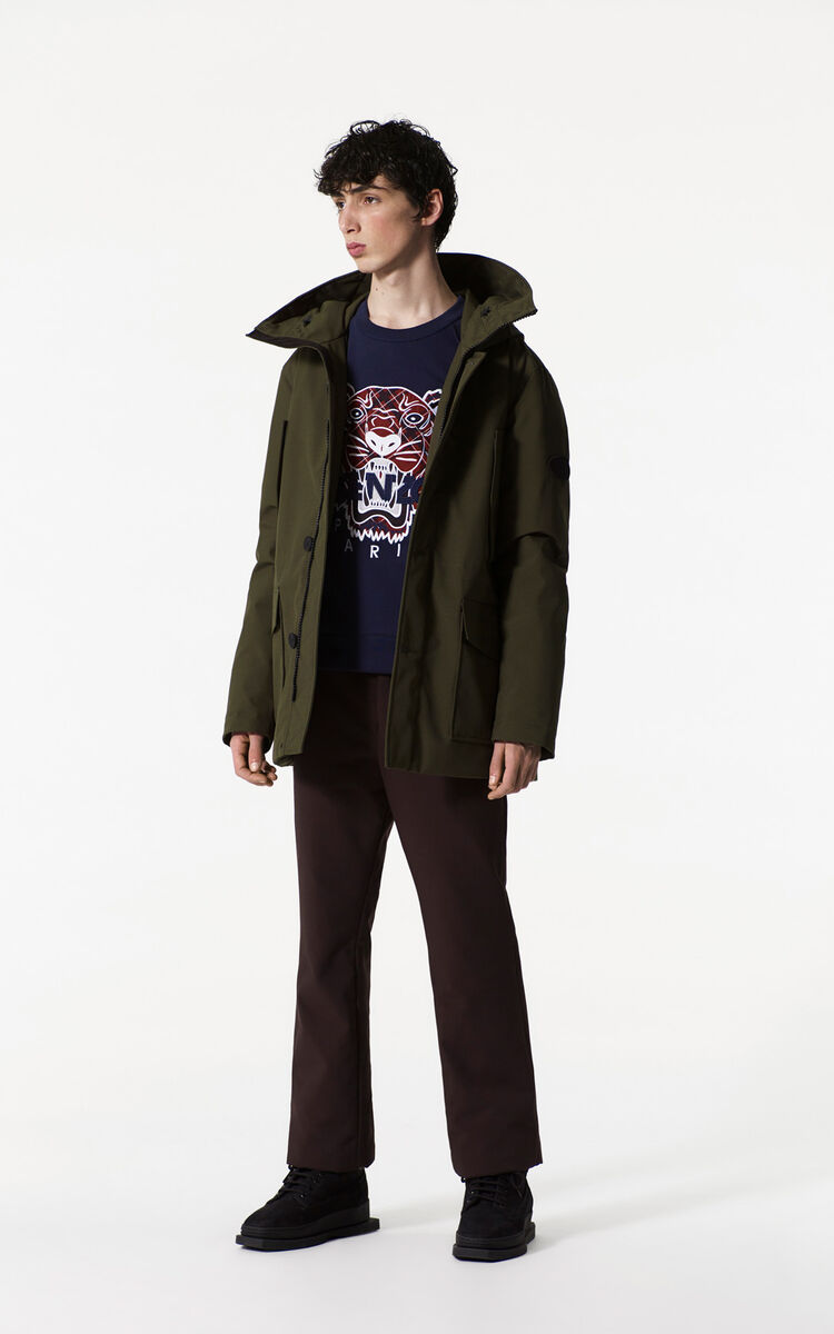 Quilted Parka for Kenzo | Kenzo.com : quilted parkas - Adamdwight.com