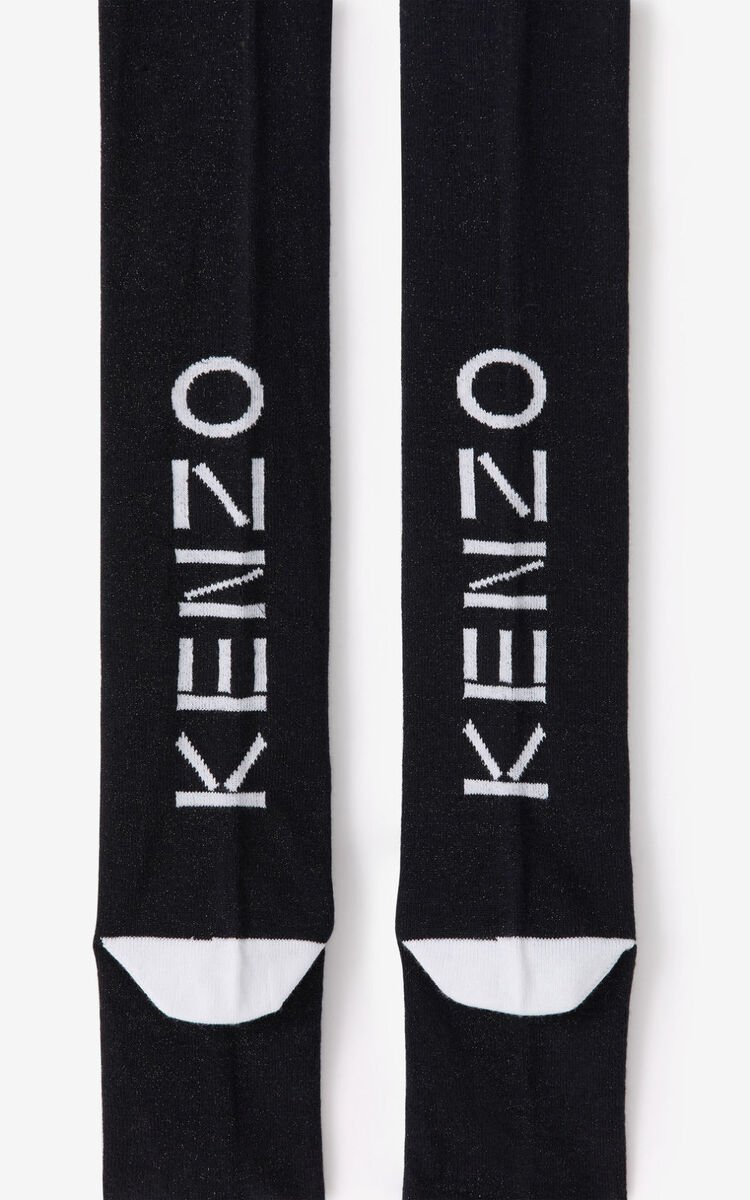 BLACK KENZO Sport tights for women
