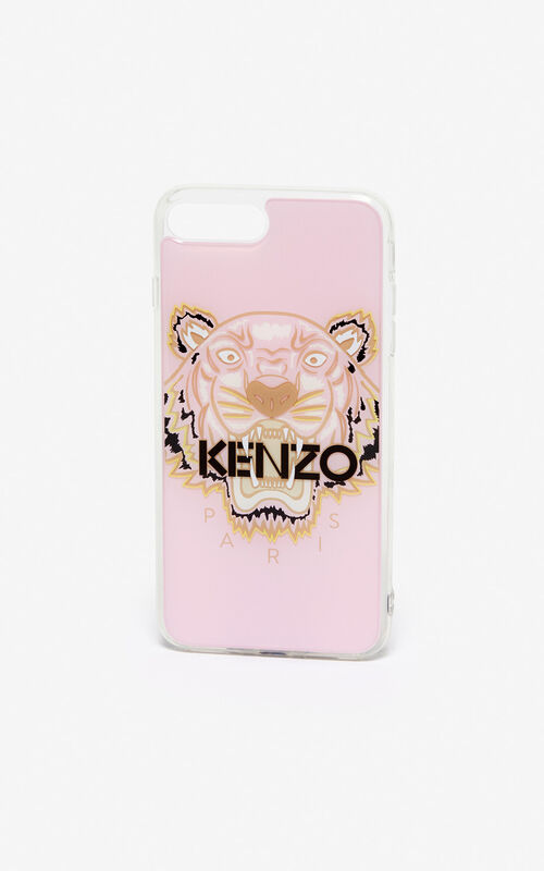 PASTEL PINK iPhone 8+ Tiger case for unisex KENZO