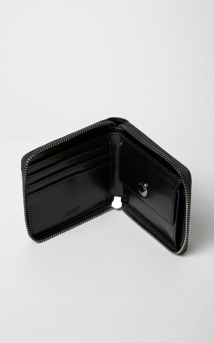 BLACK Squared Eye purse for women KENZO