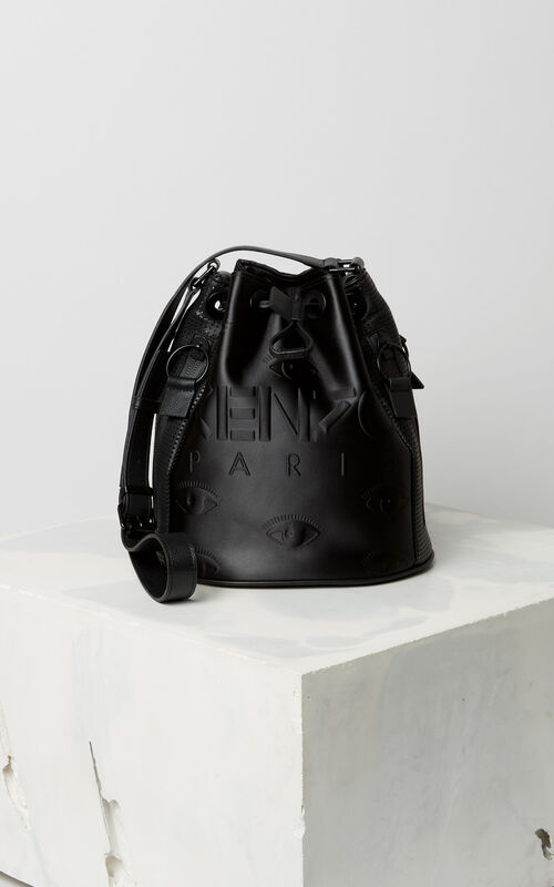 BLACK KENZO Kombo bucket bag for women