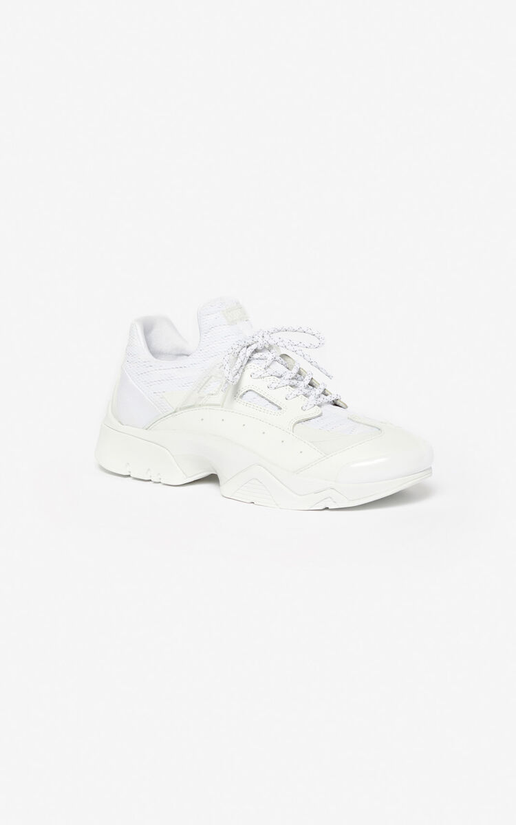 WHITE Sonic sneakers for unisex KENZO