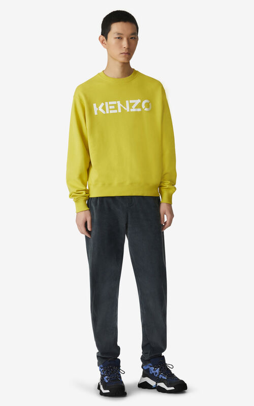 PISTACHE KENZO Logo sweatshirt for men