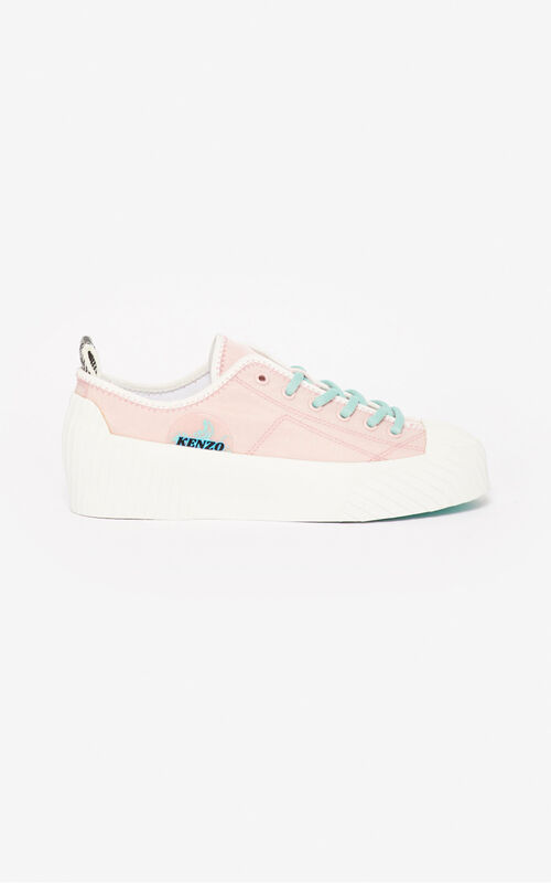 FADED PINK Volkano sneakers for women KENZO