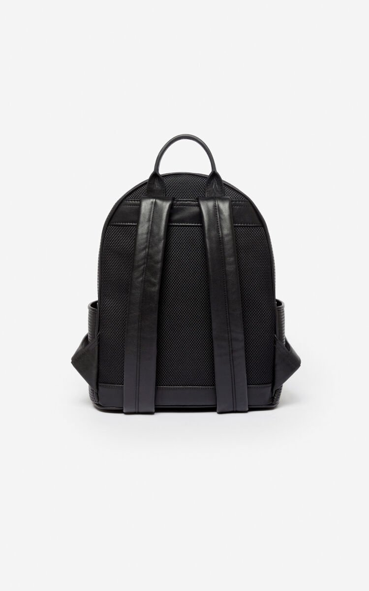 BLACK Kombo backpack for unisex KENZO
