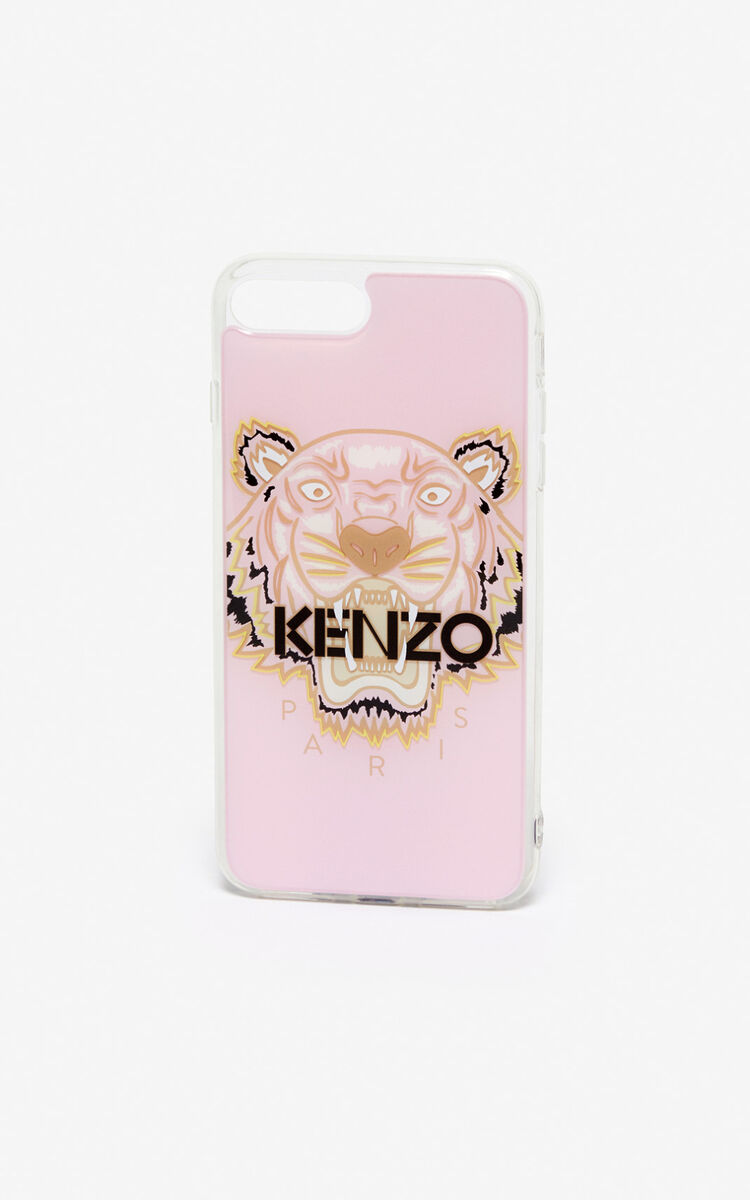PASTEL PINK iPhone 8 Tiger case for unisex KENZO