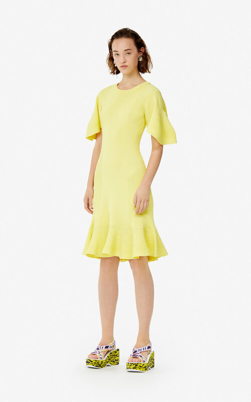 7f104743d1 ... LEMON Ruffle dress for women KENZO